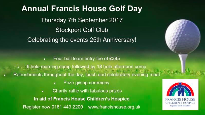 Francis House Golf Day
