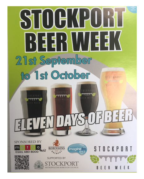 Stockport Beer Week extends to 11 days across Stockport