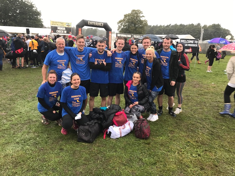 Tough Mudders raise over £1,200