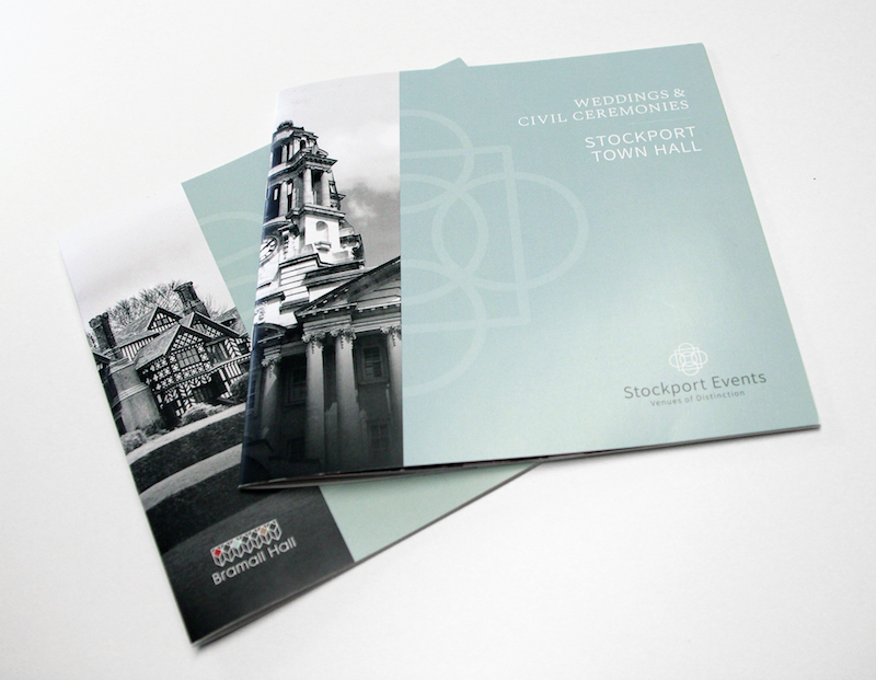 FIG Creative - new branding for Stockport Council's wedding venues