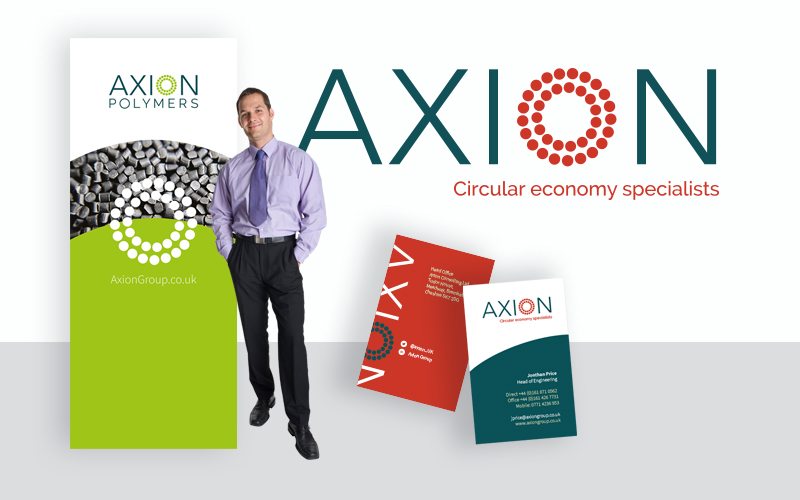Axion chooses Inness Design to rebrand
