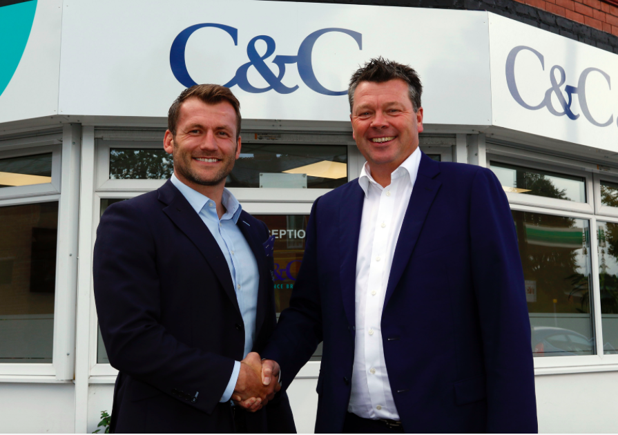 C&C Insurance Brokers extend their sponsorship of Sale Sharks for a further three seasons