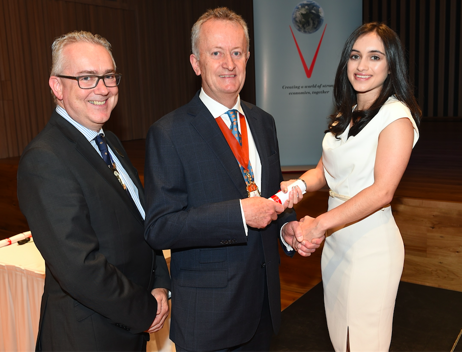 ICAEW Manchester celebrates new accountancy talent
