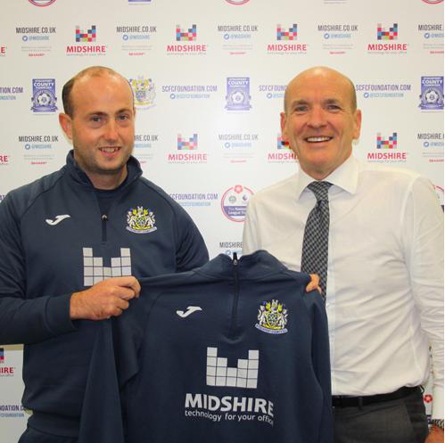 Midshire Sponsorship Scores a Hat-Trick