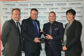 Bennett Verby highly commended in National Apprenticeship Awards