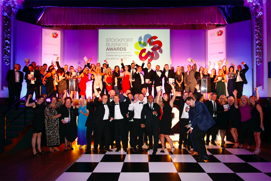 Sparkling Night at Stockport Business Awards