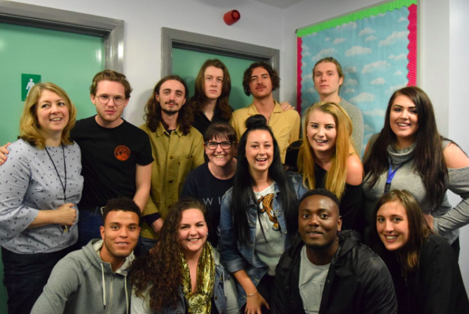 Stockport band Blossoms visit Together Trust