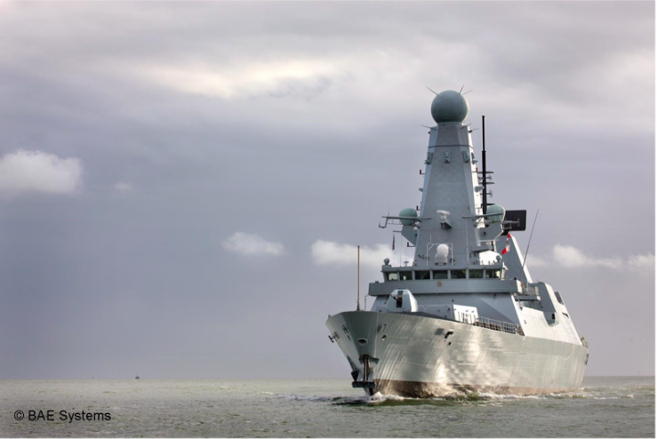 MDT-UK tendering for Type 45 Destroyers PiP