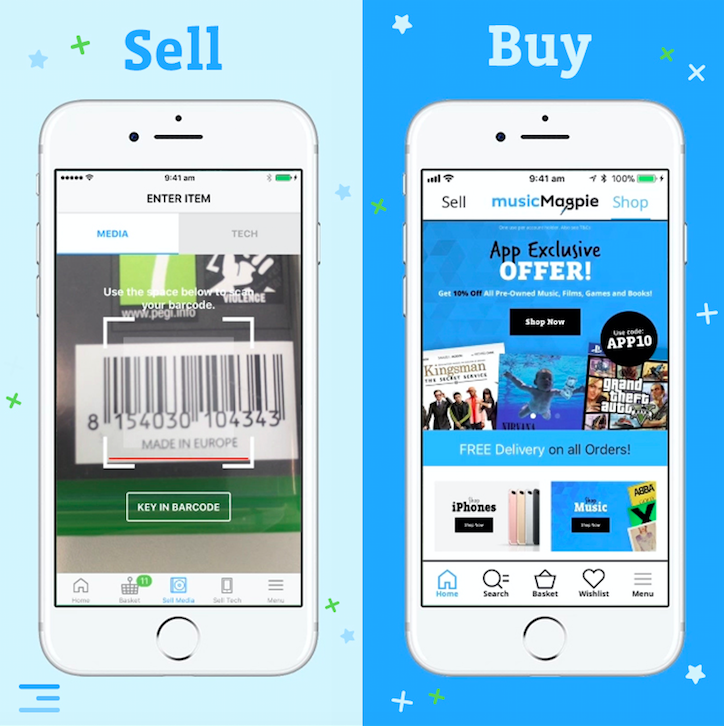musicMagpie launch new app to enabling customers to buy and sell