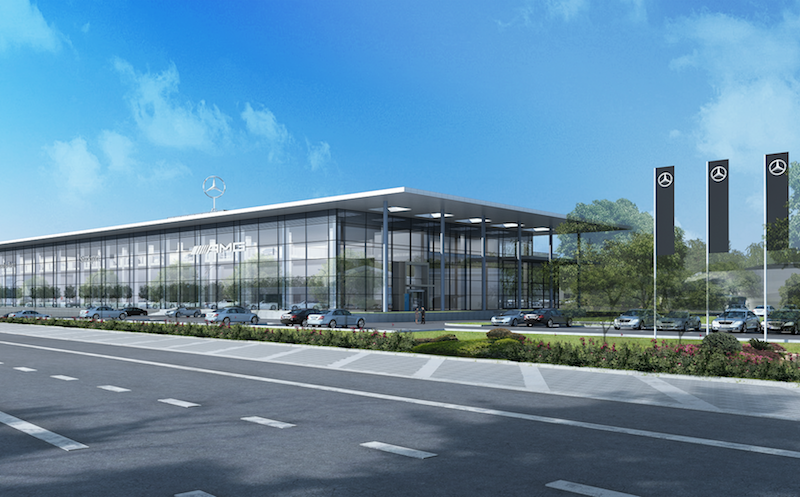 Green Light For New 163 60m Mercedes Benz Stockport