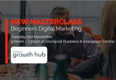 Digital Marketing Masterclass for Stockport businesses