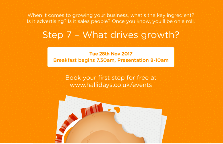 Grow your business with Hallidays BAM