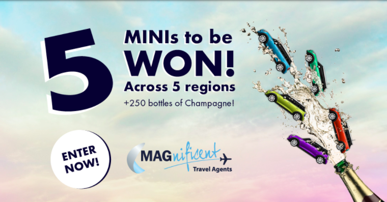 Manchester Airport is giving 5 Minis away in a new trade incentive