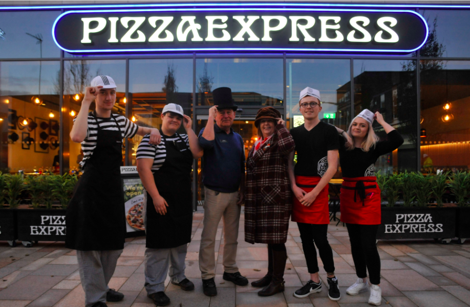 Winner of a week's worth of PizzaExpress Stockport