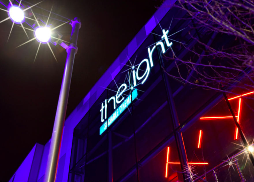 The opening of Redrock and the light cinema Stockport