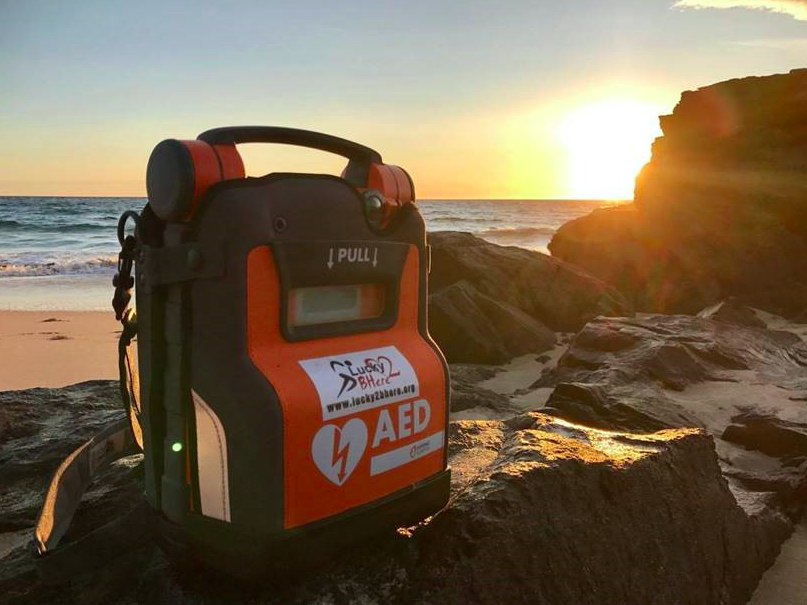 Stockport company supplies 100th DEFIB on Western Isles