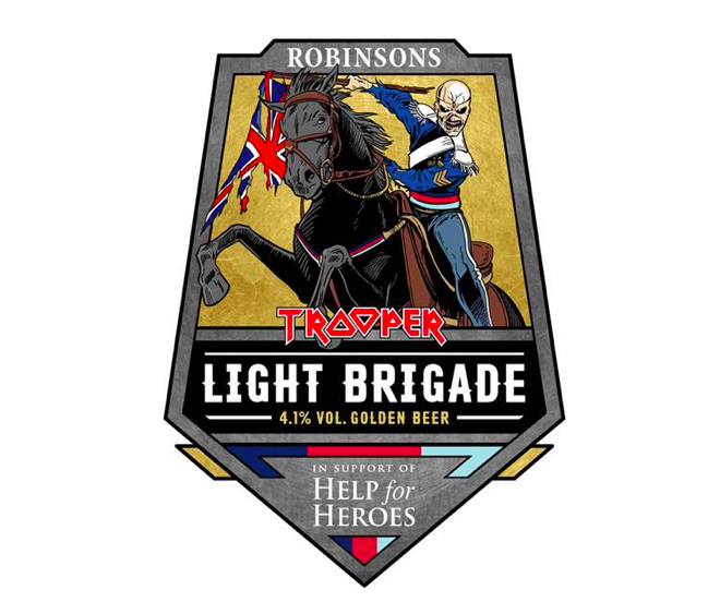 Robinsons, Iron Maiden and Help for Heroes joined forces to create Light Brigade