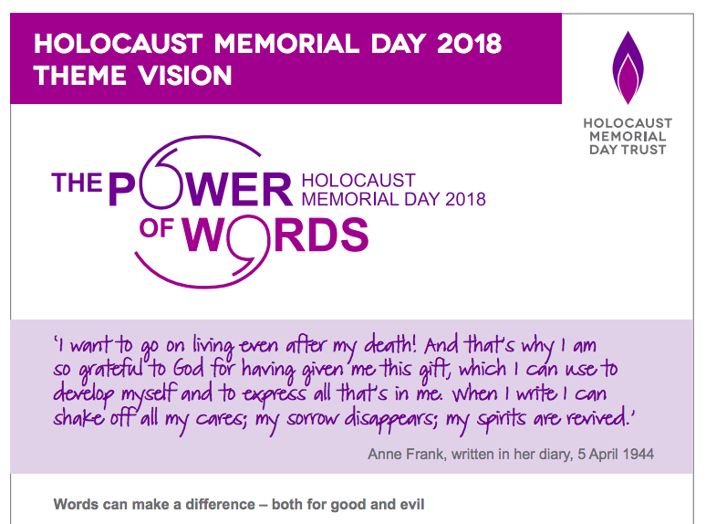 Stockport Council supports Holocaust Memorial Day