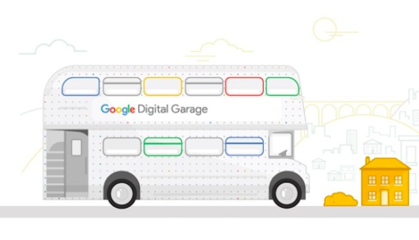 The Google Digital Garage bus tour