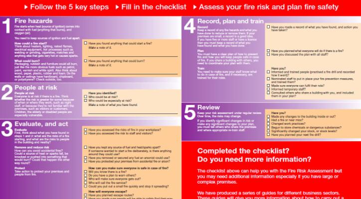 Stockport Fire Prompts Risk Assessment Reminder