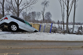 As winter sets in, steer clear of traffic accidents