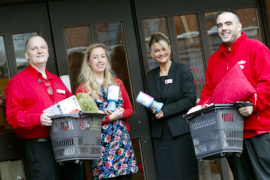 Wilko Stockport gives £500 Products to Dementia Café