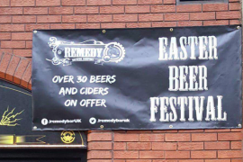 Aqua provides a Remedy for Easter Beer Festival