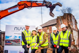 Ground-breaking new homes in Stockport town centre