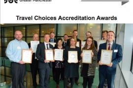 TfGM Travel Choices Celebrates Accreditation Awards