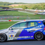 Supported by Wrightsure, Jamie Bond in the Volkswagen Racing Cup